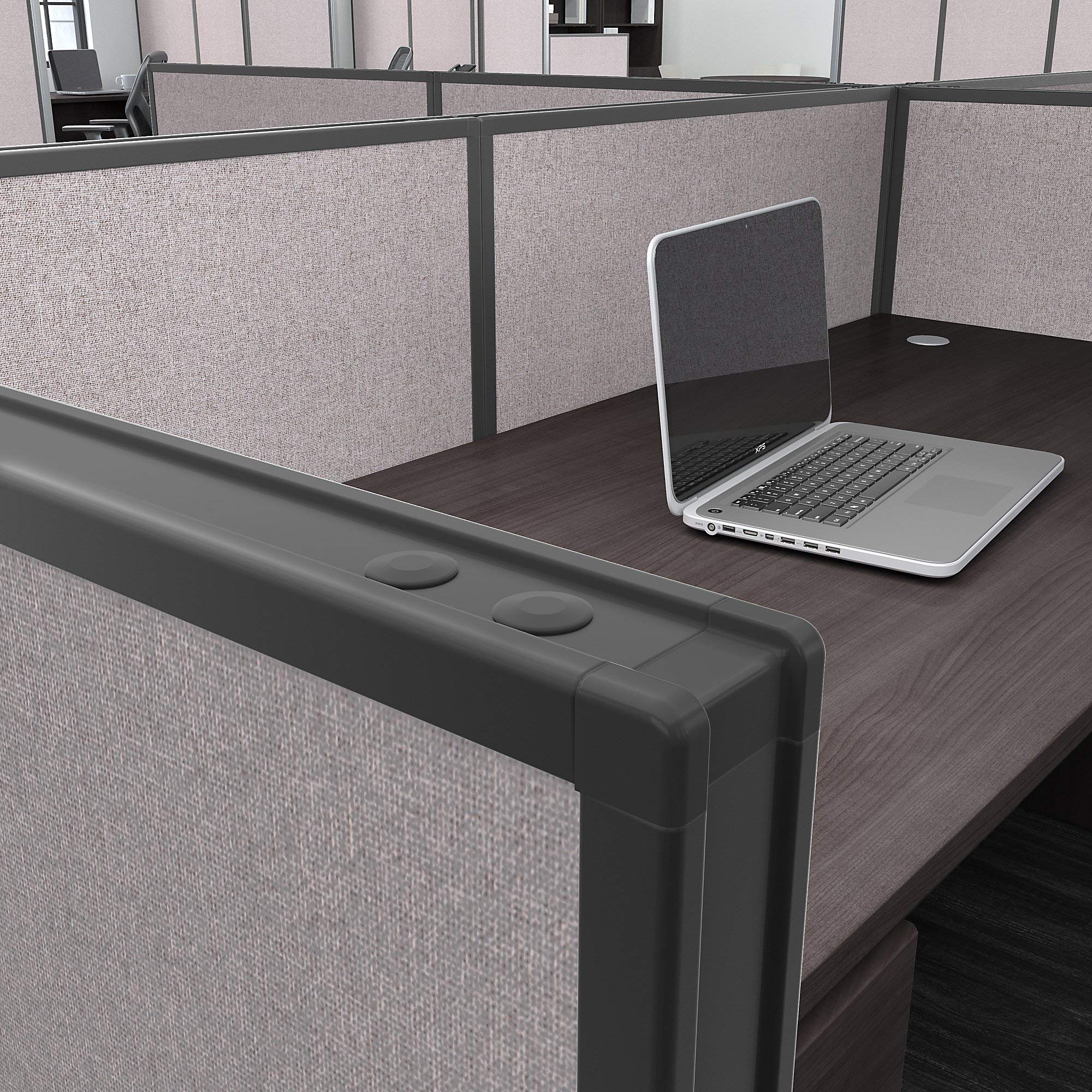 Bush Business Furniture PP66749-03 ProPanels Office Partition, 66H x 48W, Light Gray by Bush Business Furniture (Image #4)