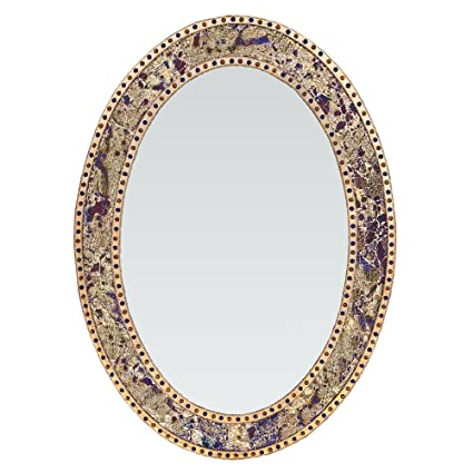 d1897bccb96 Amazon.com  DecorShore 32.5 in. x 24.5 in. Decorative Wall Mirror ...