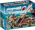 Playmobil - 6039 - Jeu De Construction - Chevalier Aigle + Catapulte