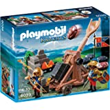 Playmobil - 6039 - Jeu De Construction - Chevalier Aigle + Catapulte