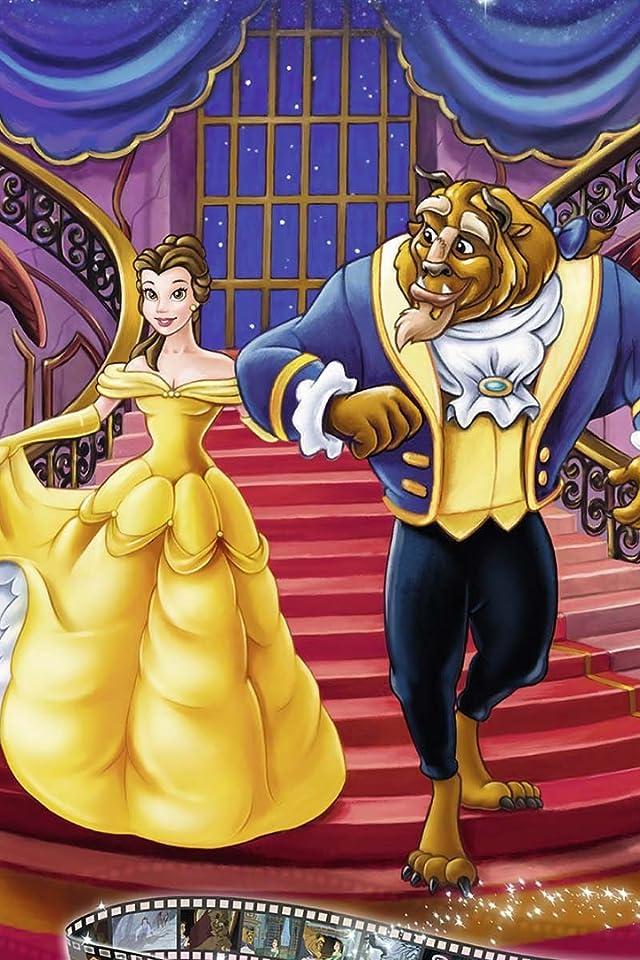 ディズニー Beauty & The Beast iPhone(640×960)壁紙画像
