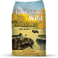 Taste Of The Wild Grain Free High Protein Dry Dog Food High Prairie Adult - Venison & Bison