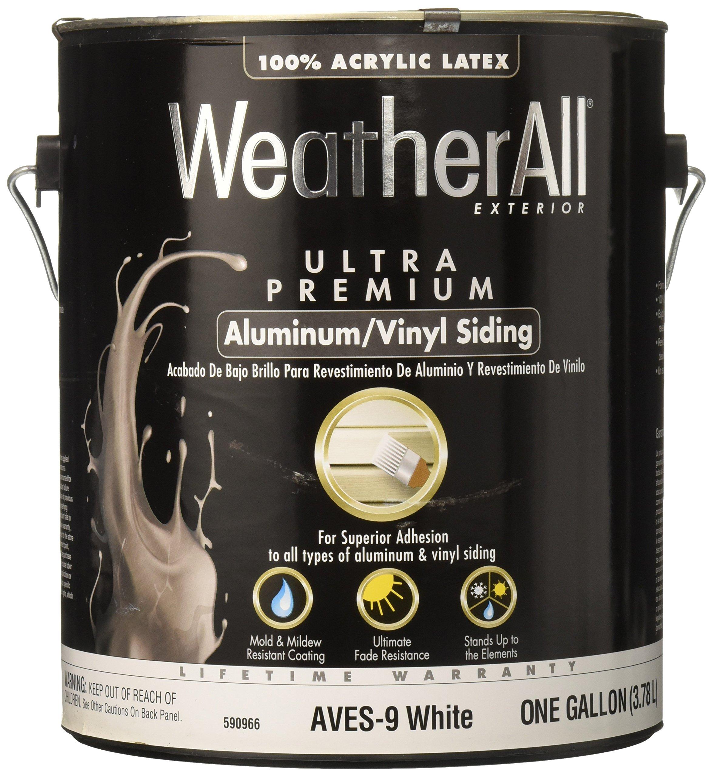 True Value AVES9-GL GALWHT Aluminum Siding Paint