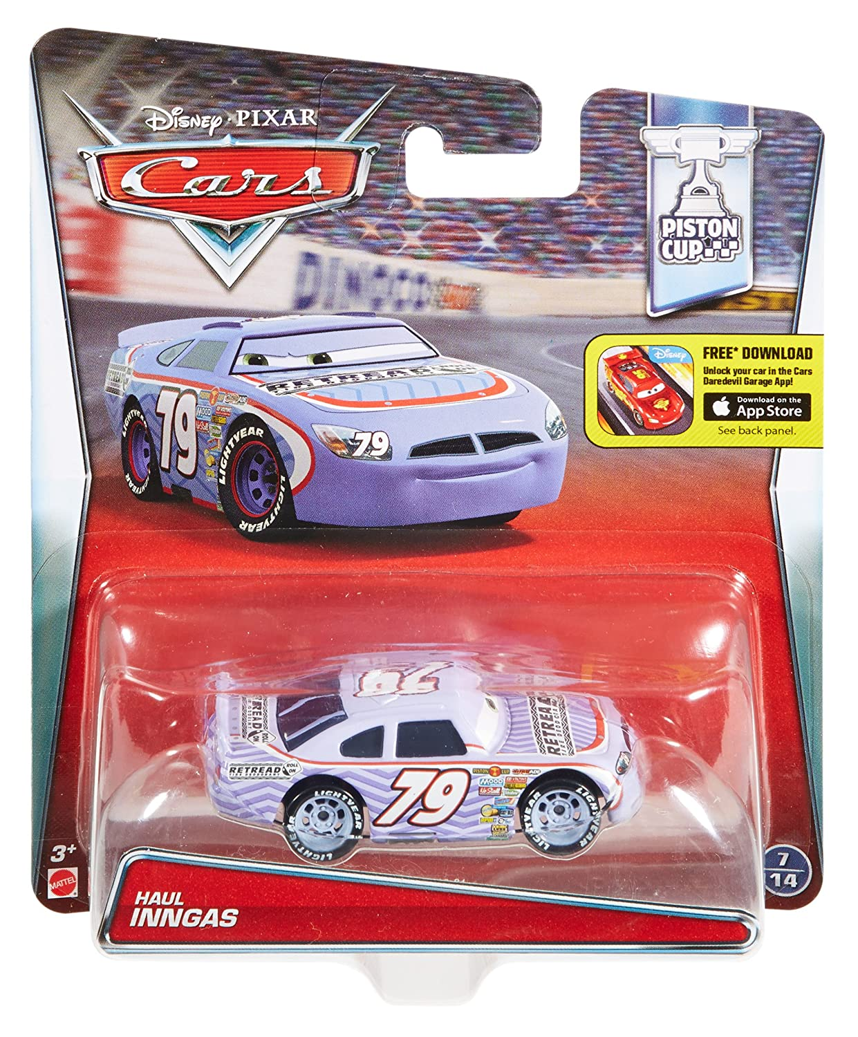 Disney/Pixar Cars Haul Inngas Vehicle by Mattel: Amazon.es: Juguetes y juegos