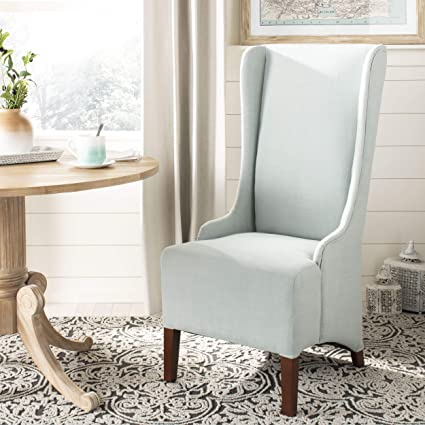 Terrific Safavieh Mercer Collection Becall Dining Chair Seafoam Green Interior Design Ideas Ghosoteloinfo