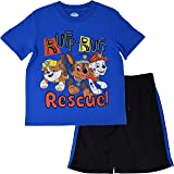 Boys 2 p Outfit Size 5-6 Paw Patrol Mesh Tank Top Shorts Set Marshall Fire Dog