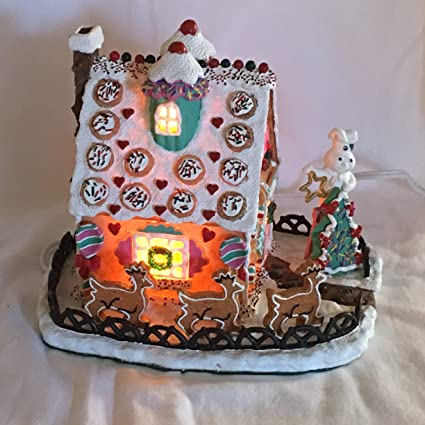Amazon Com Pillsbury Doughboy Christmas Cookie Cottage Danbury