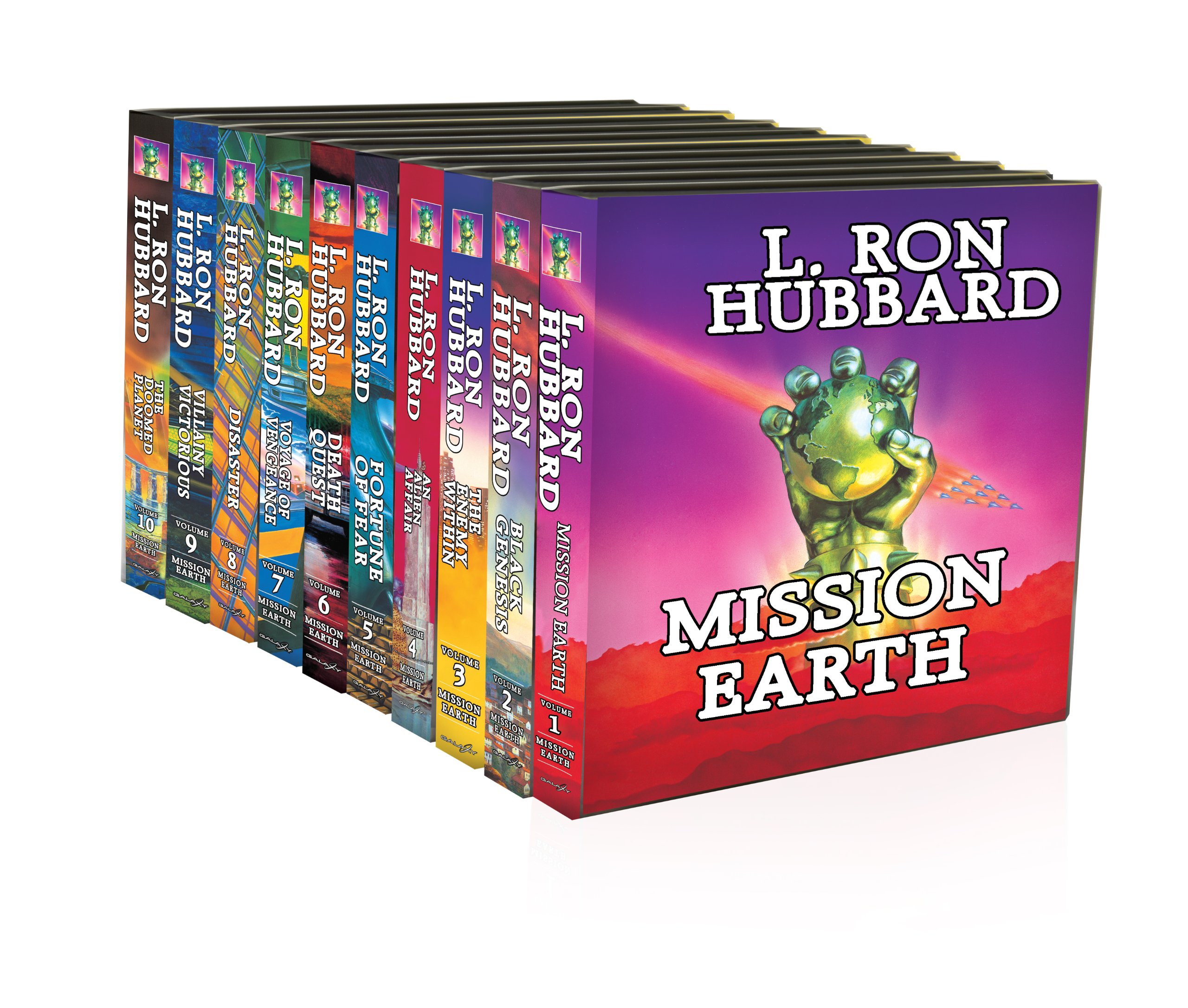 Mission Earth 10-Volume Collection