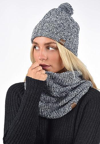 DESIRES Biene Damen Winterm/ütze Beanie M/ütze Strick aus 100/% Baumwolle