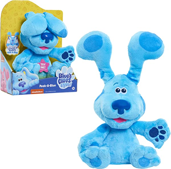 Blue's Clues & You! Peek-A-Blue Plush toy for kids in package