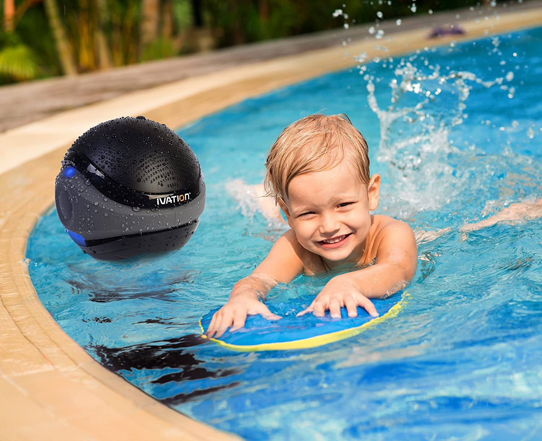 Amazon.com: Ivation Waterproof Bluetooth Floating Speaker, White:  Electronics
