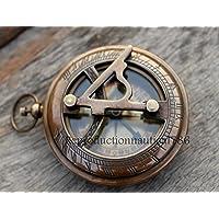 antique house Maritime Brass Antique Compass Nautical Navigation Compass with Case