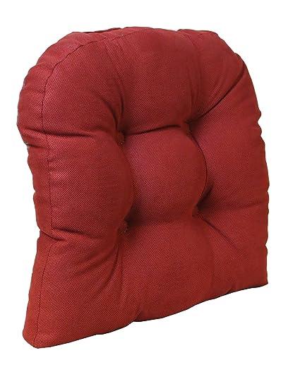 Klear Vu The Gripper Non Slip Universal Chair Cushion Honeycomb, Red
