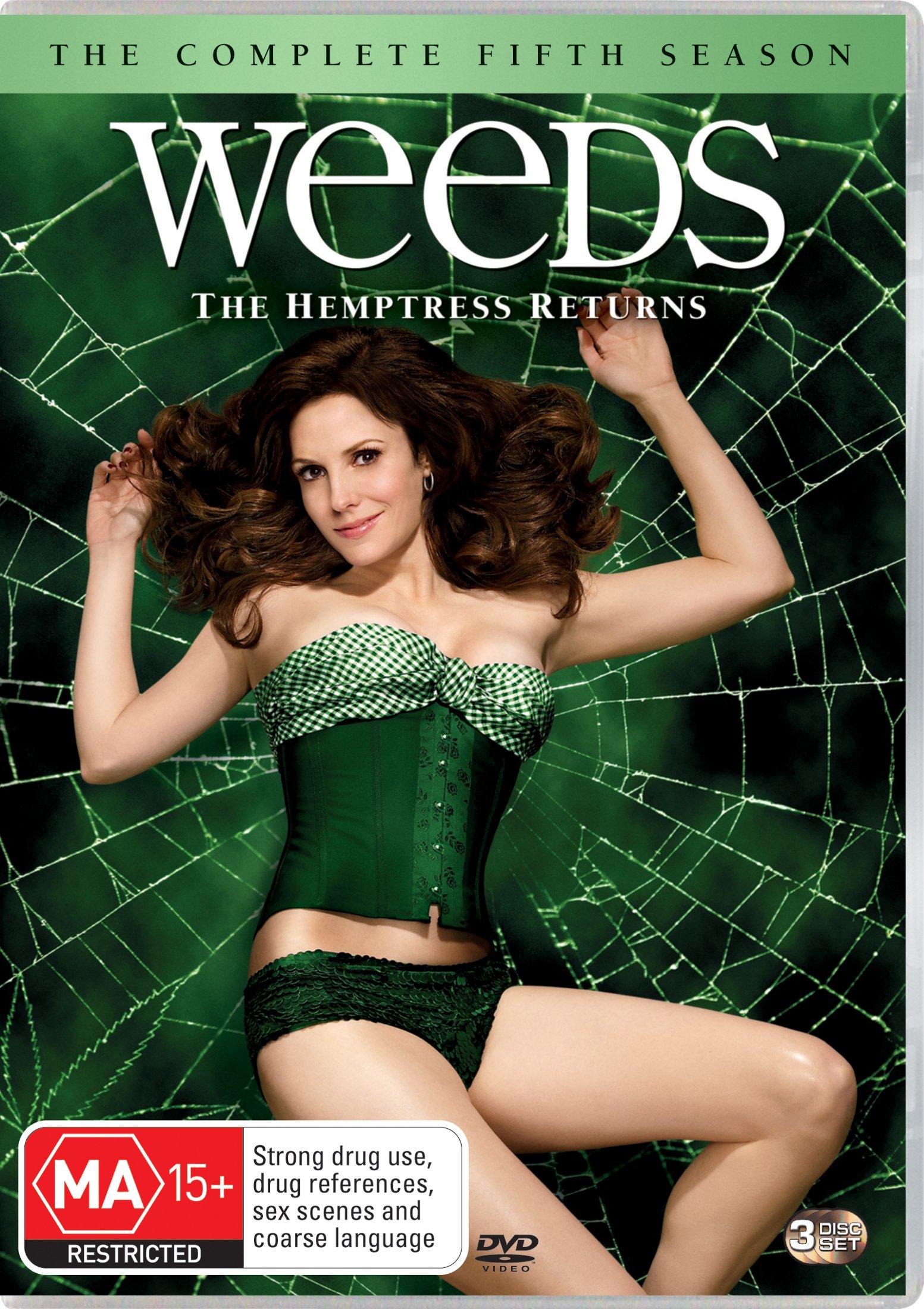 Weeds Season 5   3 Discs   NON-USA Format   PAL   Region 4 Import - Australia