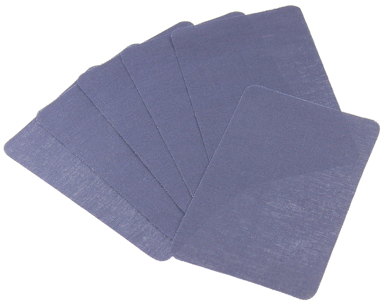 Aufbügler weiß 4 Stk Patches Jeansflicken Aufnäher Reparaturflicken Flicken 109
