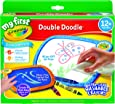 Crayola, My First, Double Doodle, Dual Sided,  1 year, 2 years, Toddler, Easy Erase, Washable Crayons, Mess Free