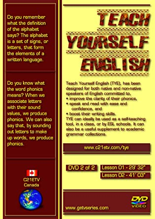 Amazon com: TEACH YOURSELF ENGLISH - 2 DVDs SET: PATRICIA