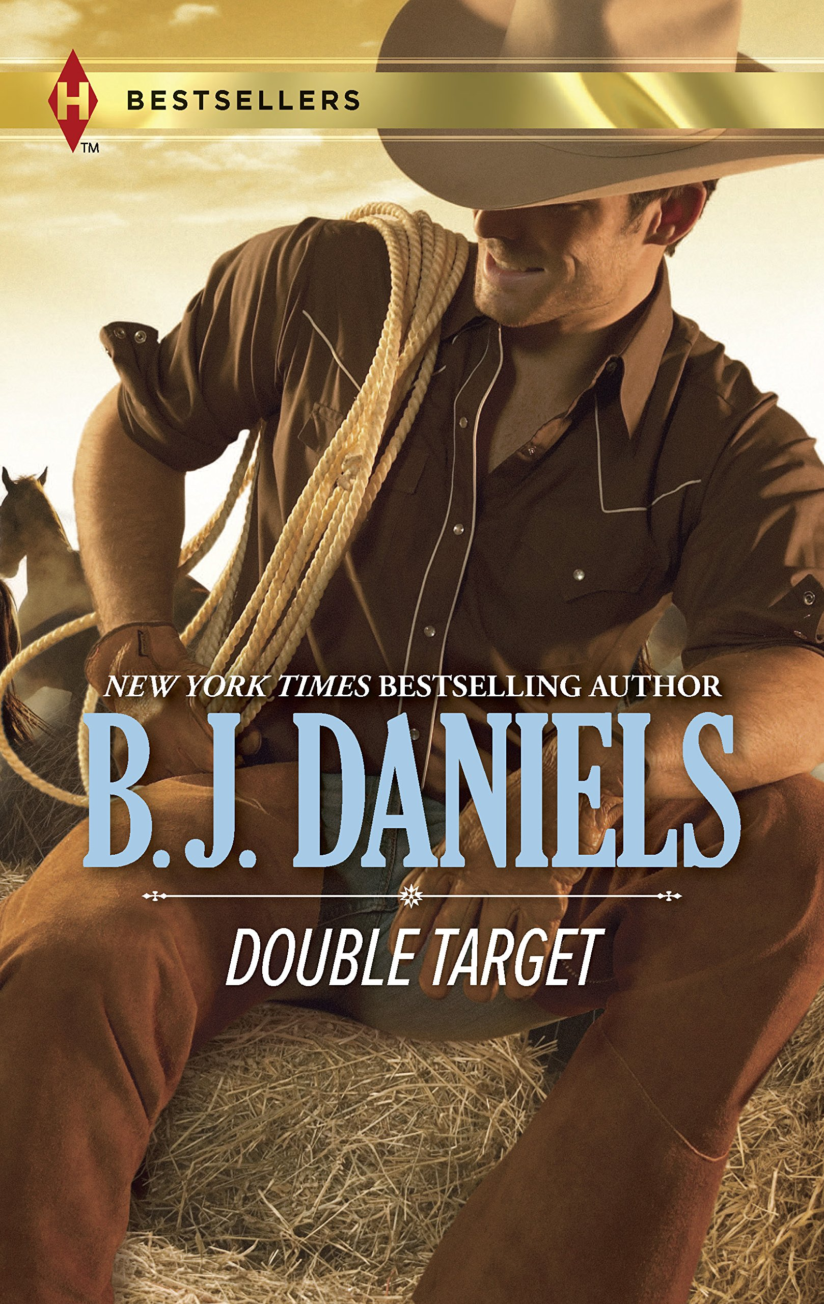 Double Target: Cowboy AccompliceShotgun Surrender (Harlequin Bestsellers)
