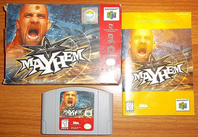 Wcw Mayhem Nintendo 64 Nintendo 64 Computer And Video Games Amazon Ca