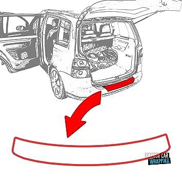 Citroen C4 Grand Picasso ladekant Laca protectora Protector de pantalla + Rasqueta + instrucciones en transparente