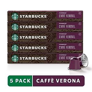 Starbucks by Nespresso, Caffè Verona, 50 Count