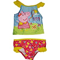 Sayolala Family Clothes Mommy Dad Me Bathing Bikini Swimwear Sling Cartoon Pig Swimsuit Pants