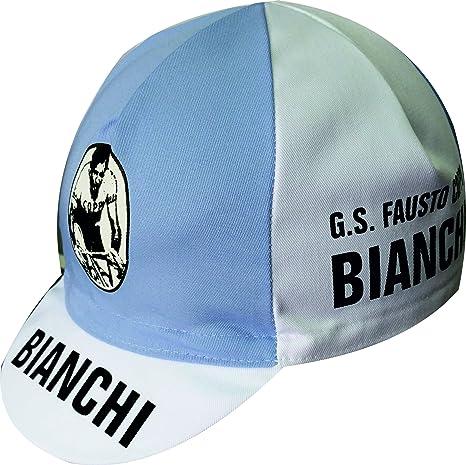 Cappellino da ciclismo Coppi Bianchi  Amazon.it  Sport e tempo libero 8665225424d1