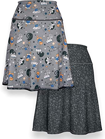 one size Fits PLUS Women/'s XL to 3XL earth friendly fashion Upcycled Wrap Skirt 25 length Garden Party recycled t-shirts