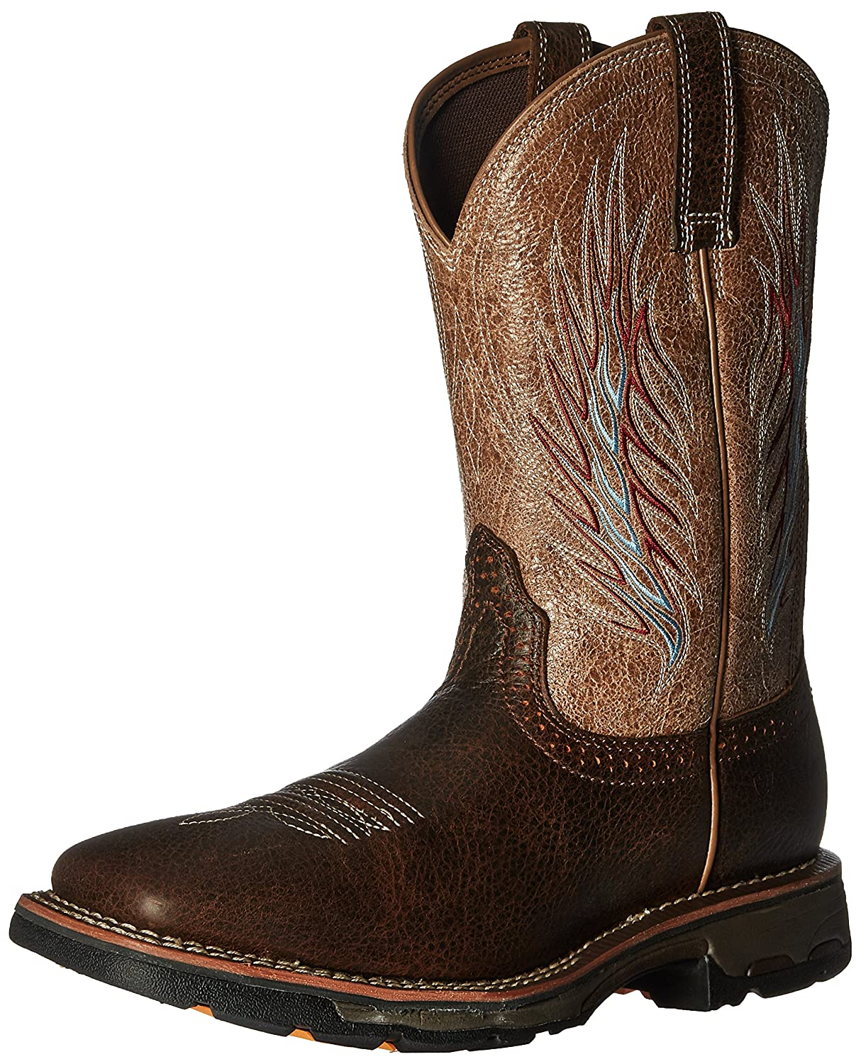 Ariat メンズ B01BL5ZZT8 11 2E US|Rustic Brown/Stone Rustic Brown/Stone 11 2E US