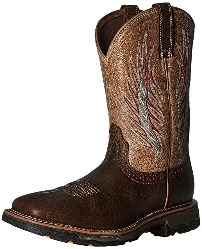 738755b523cf ARIAT Men s Workhog Mesteno Ii Work Boot Rustic Brown Size 7 D Medium Us