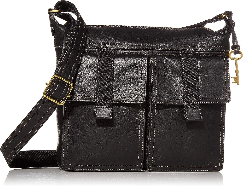 Fossil Women's Cargo Leather Crossbody Handbag