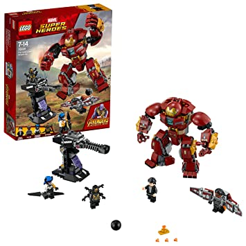 lowest price 2f403 58983 LEGO 76104 Marvel Avengers The Hulkbuster Smash-Up, Bruce Banner, Falcon,  Proxima