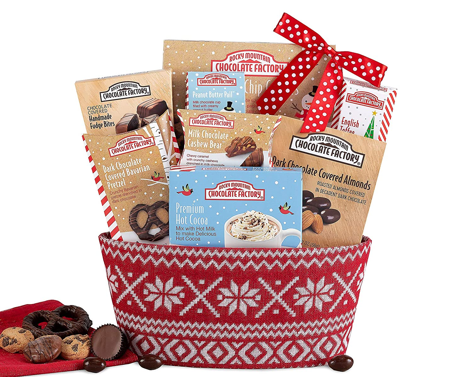 Amazoncom Rocky Mountain Chocolate Winter Collection Gift