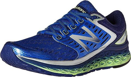 New Balance M1080 Running NBX Neutral - Zapatillas de deporte para hombre, Azul / Lima, EU 46.5 (US 12): Amazon.es: Zapatos y complementos