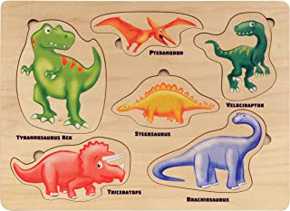 product image for Lift and Learn Dinosaur Puzzle - Made in USA