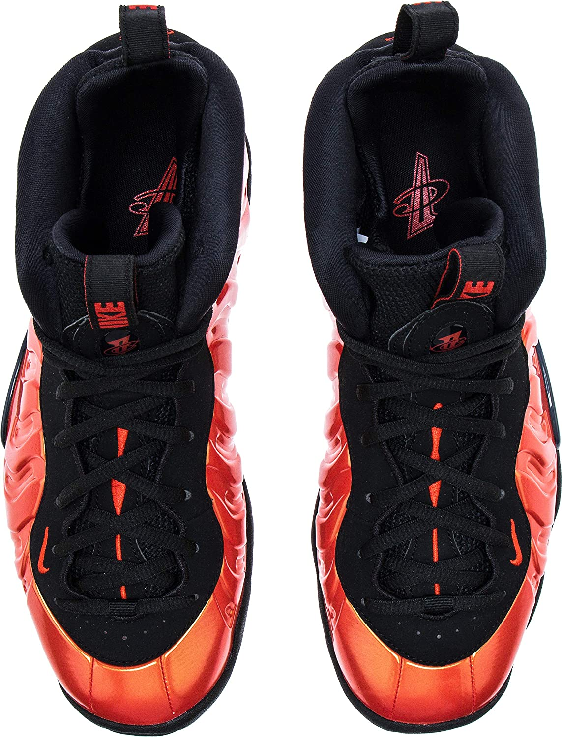 GS Nike Little Posite One Habanero Red//Habanero Red