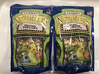 product image for LAFEBER'S Gourmet Nutri-Berries with Popcorn for Parakeet, Cockatiel & Conures 4 oz - Pack of 2
