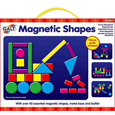 Galt Toys, Magnetic Shapes: Toys & Games [5Bkhe2001749]