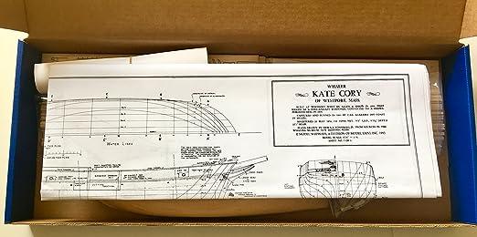 Modelo Shipways Kate Cory 1856 Whaling Brig 3/16