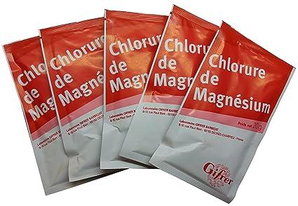 Cloruro de magnesio 20 G – Lote de 5