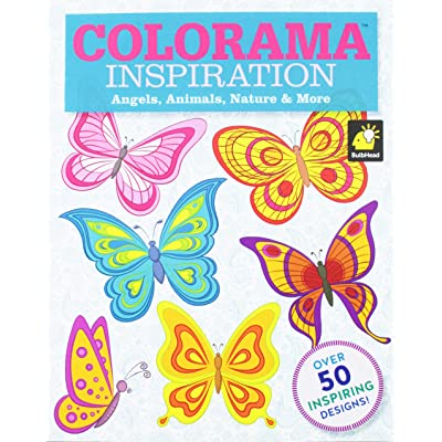 Colorama Decoration and Inspiration Angels, Animals, Nature & More Coloring Book: Toys & Games