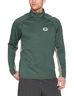 Amazon.com    47 NFL Green Bay Packers Men s Gamebreak 1 4-Zip ... ae9a0e237