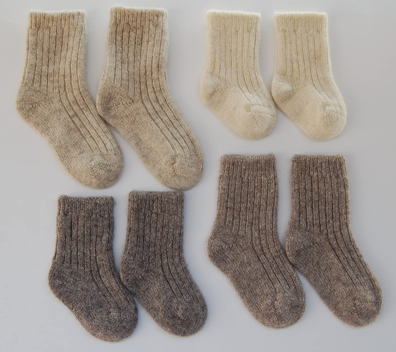Newborn Baby Gifts 0-6 6-12 12-24 months Wee Dreamers Baby Socks Wool Organic