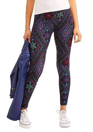 4bb86f75f0680 No Boundaries Gray Chevron Super Soft Sueded Legging at Amazon Women's  Clothing store: