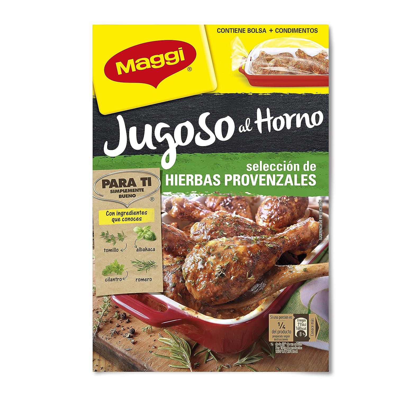 Maggi - Jugoso al Horno - Pollo a Las Hierbas Provenzales - 34 g: Amazon.es: Alimentación y bebidas