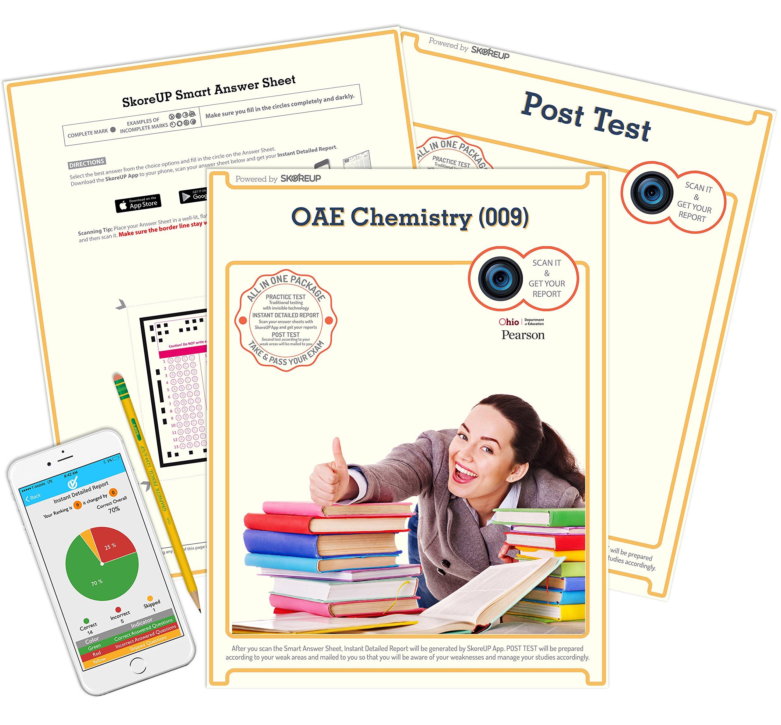 OAE Chemistry (009) Exam, Ohio Assessments for Educators OH