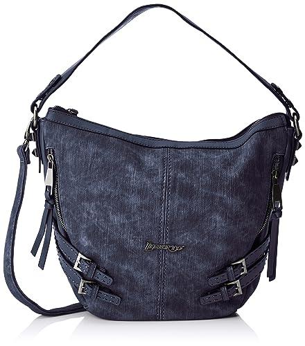 Liberto 171003, Sacs portés main femme, Azul (Jeans), 13x25x32 cm (W x H L)