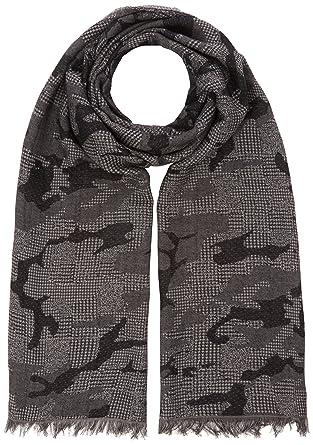 fbd420da0fc2 BOSS Net-1, Echarpe Homme, Noir (Black 001), Unique (Taille Fabricant   STCK)  Amazon.fr  Vêtements et accessoires