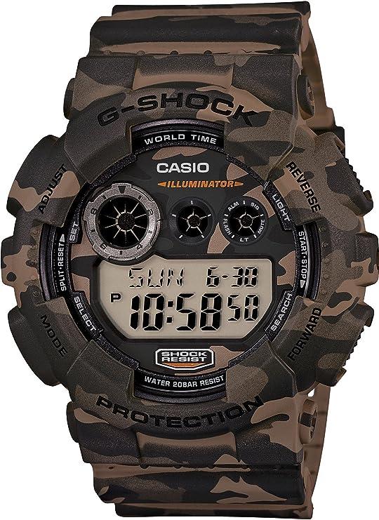 [カシオ] 腕時計 ジーショック Camouflage Series GD-120CM-5JR