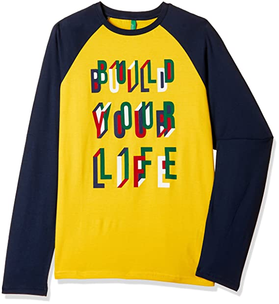 United Colors of Benetton Boys Long Sleeve Top